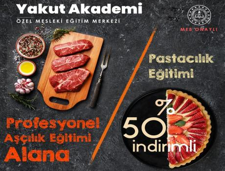 Aşçılık Eğitimi Şubat Ayı Kayıtları Kampanya