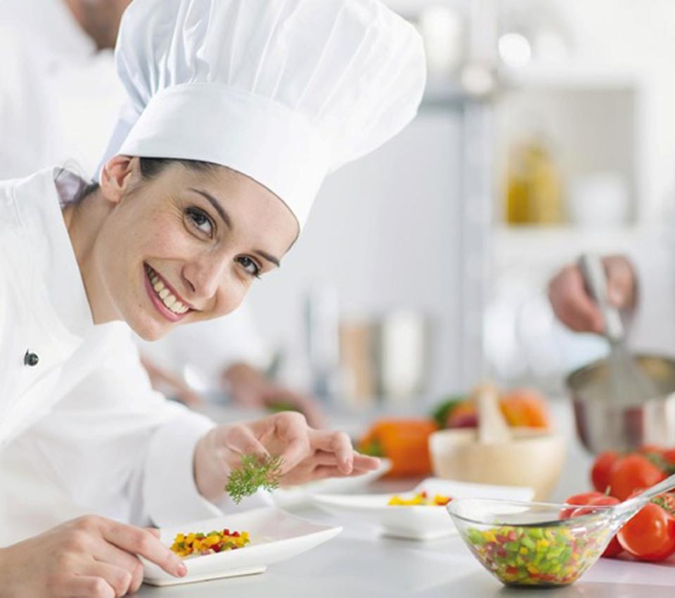 Our professional cooking course has started!