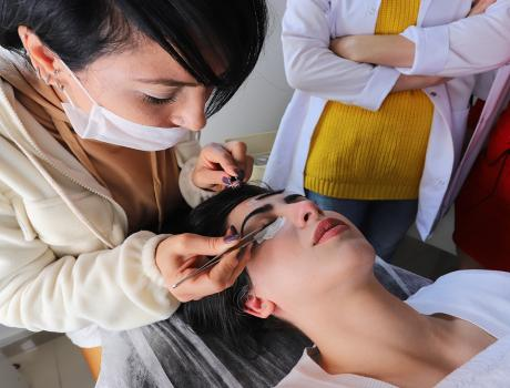 Esthetician - Beauty Expertise course photos