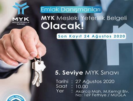 MYK Mesleki Yeterlilik Belgesi Sınavı