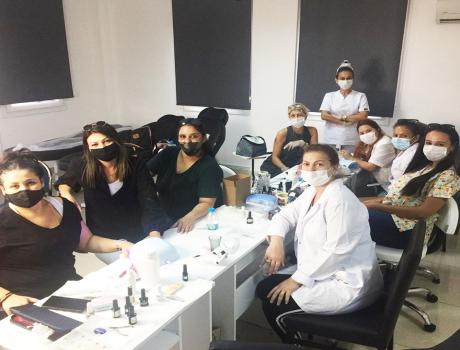 Our Prosthetic Nail and Manicure Pedicure Course