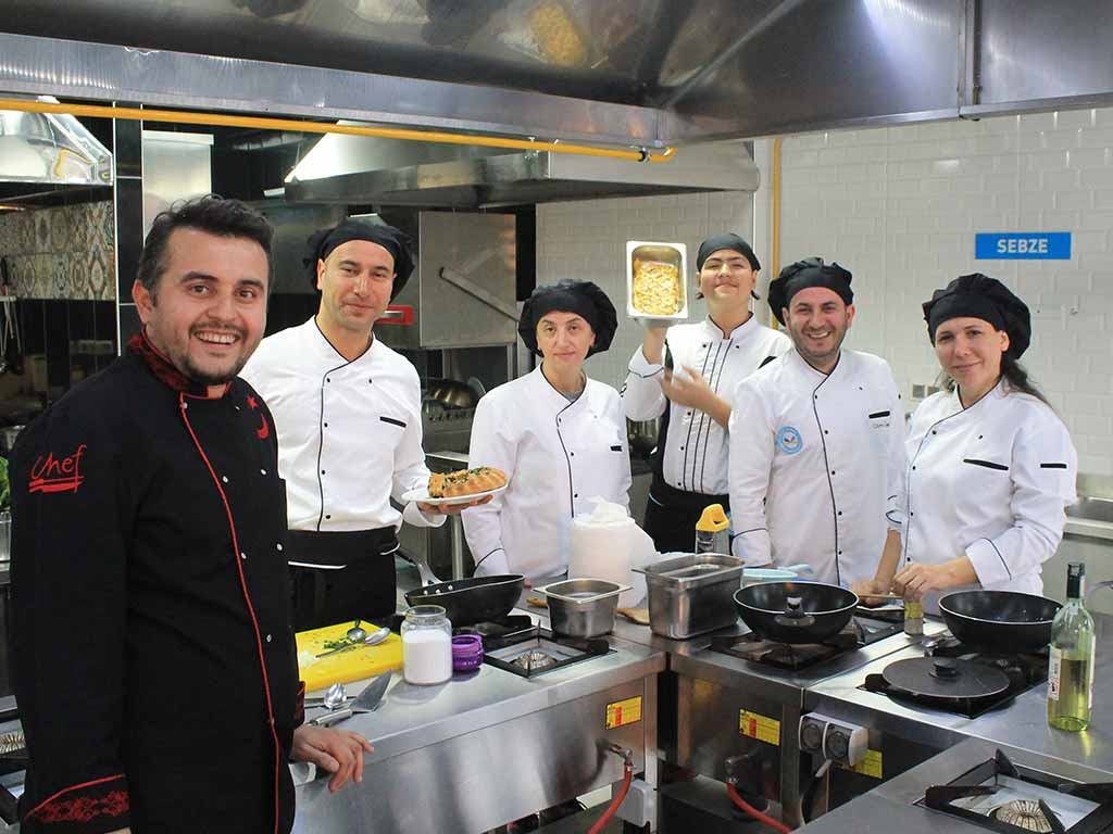 Yacht Cuisine Cooking Training